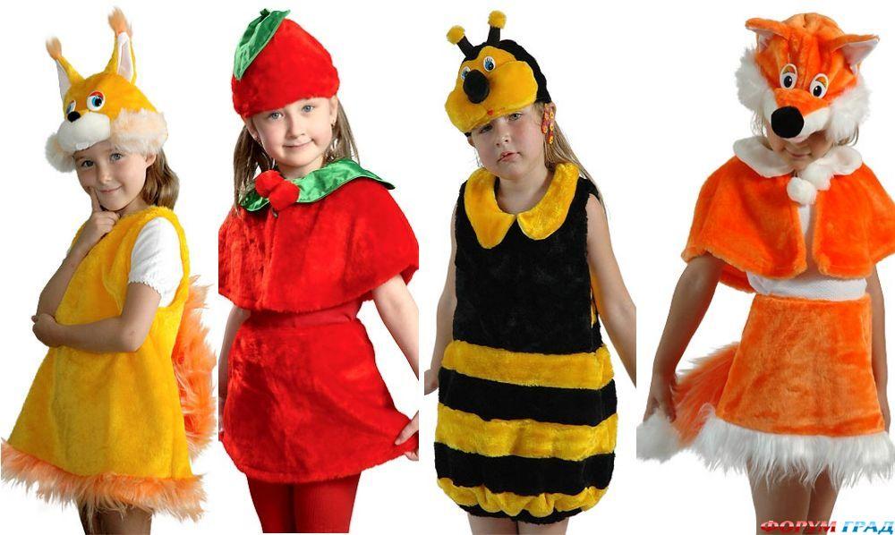 Костюмы для нового года для детей своими руками